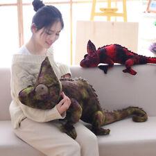New Plush Lizard Toy Chameleon Doll Soft Stuffed Animal Adult Kids Birthday Gift