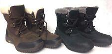 UGG Australia Ostrander Black Stout Leather Sheepskin Waterproof Rain Snow Boots