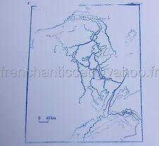 B233 ANCIEN TAMPON SCOLAIRE METAL LE RHIN FLEUVE EAU