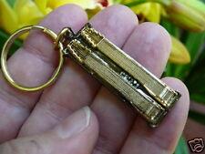 (M-313-B) EMMONS D10 PEDAL STEEL Guitar KEYCHAIN JEWELRY key chain love music