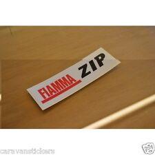 FIAMMA ZIP - (PRINTED) - Motorhome Sticker Decal Graphic - (EASY-FIX) - SINGLE