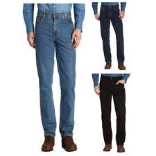 Wrangler Texas Authentique Jeans Régulier Lav D'encre Noire, Toutes Les Tailles