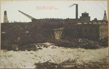 1910 Postcard-Paper Mill & Dam- International Falls, MN