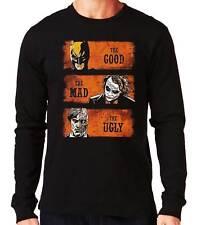 Camiseta Manga Larga The Good The Mad The Ugly Batman Joker long sleeve shirt
