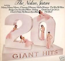 NOLANS / NOLAN SISTERS ~ 20 GIANT HITS ~ 1978 UK LP RECORD ~ TARGET TGS 502