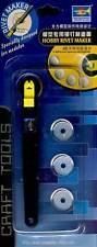 Trumpeter Hobby Rivet Maker 4 gezahnte Rädchen für Nieten Vertiefungen Gravuren