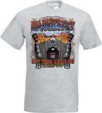 T Shirt im Ashton mit einem Biker-,Chopper-&Old Schoolmotiv Modell Mainstreet of