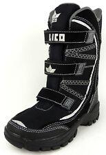 LICO  Jungen  Winter Stiefel  COMFORTEX  schwarz/grau  Klettverschluss