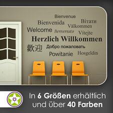 waf0884 - Cordial Willkommen Sticker mural KIWISTAR - Autocollant