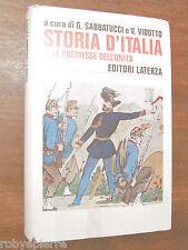 Vendo Storia D'Italia Sabbatucci Vidotto Editori Laterza 1994 n vol 1 I BUONO