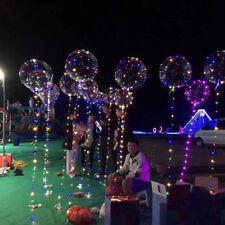 Hot Luminous Led Balloon 3M LED Air Balloon String Lights Round Helium Balloons
