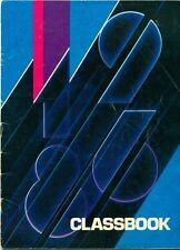 1986 RONCEVERTE ELEMENTARY SCHOOL YEARBOOK, RONCEVERTE, WV