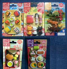1 x iwako Eraser Set - Japanese Sushi / Sweets / Dinosaurs - Made in Japan