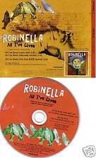 ROBINELLA All I've Given PROMO CD ALTERNATE VERS & LIVE