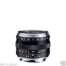 New Carl Zeiss C Sonnar T* 50mm F1.5 ZM Standard Lens Black Leica M M9 M8.2