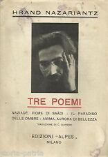 LETTERATURA_POESIA_HRAND NAZARIANTZ_ARMENIA_PUGLIA_BARI_PUBBLICITA' EDITORIALE