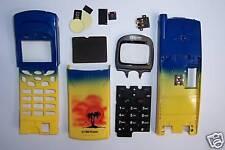 Komplett Gehäuse für Nokia 8110 gelb/blau