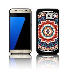 ' Ethnic Mandala ' Silicone Case for Samsung GALAXY S5 S6 S7 Rubber Black Cover