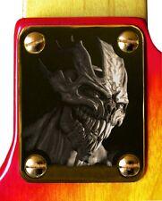 Neck Plate Neckplate Gold Fender Strat Strat Tele P J  Bass Guitar Alien Entity