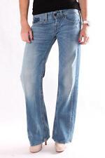 Damen Jeans WV580F 211 529 009 JANICE  Modell, Blau, Denim, Baggy, Größe 25-30
