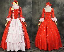 H-056 Taglia M clamps XxxHolic Yuko Cosplay Gothic abito Victorian Rosso Costume