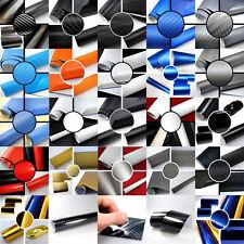 (49,83€/m²) BLASENFREIE AutoFolie 2D 3D 4D Carbon Matt Glanz MUSTER Auto Folie