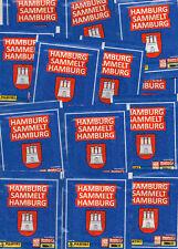 Hamburg sammelt Hamburg 2/25 Tüten/Panini/Sticker/Blau