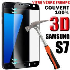 GALAXY S7 film protection écran VITRE VERRE TREMPE 3D intégral total SAMSUNG S7