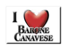 CALAMITA PIEMONTE FRIDGE MAGNET MAGNETE SOUVENIR LOVE BARONE CANAVESE (TO)