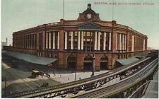 Antique Postcard c1908 South Terminal Station Boston, Ma Mass.