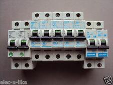 GE SERIES E MCB 6A 10A 16A 20A 32A 40A STEEPLE VYNCKIER 6 10 16 20 32 40 AMP