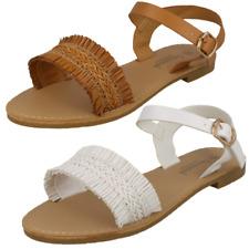 Ladies Savannah Ankle Strap Mule Sandals