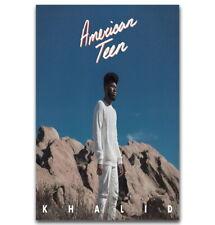 58298 Khalid American Tour Custom Rapper Music Star Wall Print Poster CA