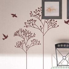 ALBERO Uccellino Fiore Le piante d'arte Adesivi Da Parete/Adesivi murali Wall Art