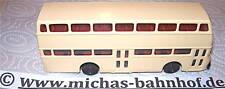 Doppelstockbus Präfekt 25 undekoriert mini car ses 1/87    å
