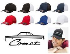 1964 Mercury Comet Hardtop Classic Car Color Outline Design Hat Cap