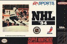 NHL 94 (Super Nintendo Entertainment System, 1993)