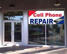 CELL PHONE REPAIR BANNER Business Advertising Tablet Cell Phones Repair