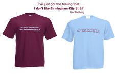 Villa Olof Mellberg citar Camiseta presente clarete Azul Hombres Mujeres Niños villanos
