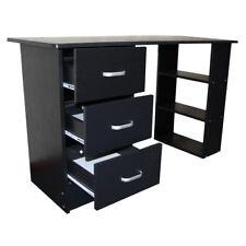 Computertisch Schreibtisch Schwartz Weiß Buche Nussbaum Schubladen Redstone
