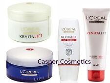 Loreal RevitaLift Day Night AntiWrinkle Cream Milky Foam or UV Green Makeup Base