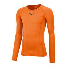 Puma LEGA Baselayer maniche lunghe Arancione F08