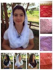 Soft Infinity Veils and mantillas church chaple catholic scarf  Mass - Med