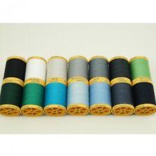 Gutermann Hilo De Coser 100% Algodón Natural 800m Tambores En 14 Colores (2)