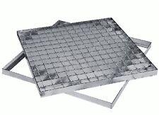 Griglie pedonabili griglia pedonabile telaio acciaio zincato quadra quadrata new