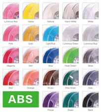 eSun ABS 1,75mm 3D Drucker Filament viele Farben wählbar Glow in Dark Leuchtend