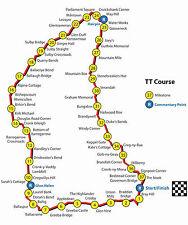 Isla De Man TT RACING curso cartel 1 (tamaños-A5-A4-A3-A2) + cartel A3 sorpresa