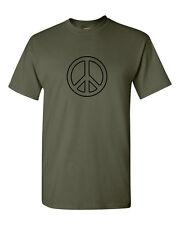 Peace T Shirt CND logo retro and hippy