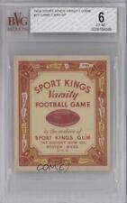 1934 Sports Kings Varsity Football #13 Game Card BVG 6