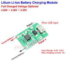 3.7V 3.8V 18650 Lithium Polymer Li-ion Battery Charging Board USB Charger Module